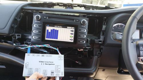 Car GPS, Toyota Integration, 2014-2015 Kluger Intergration